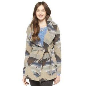 Tribal Print Coat